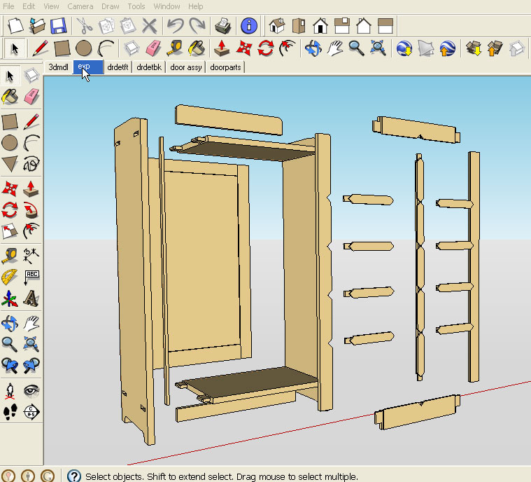 Sketchup Woodworking Plans - Best Way To Digitalize Plans