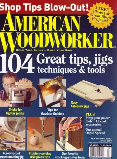 american woodworker magazines