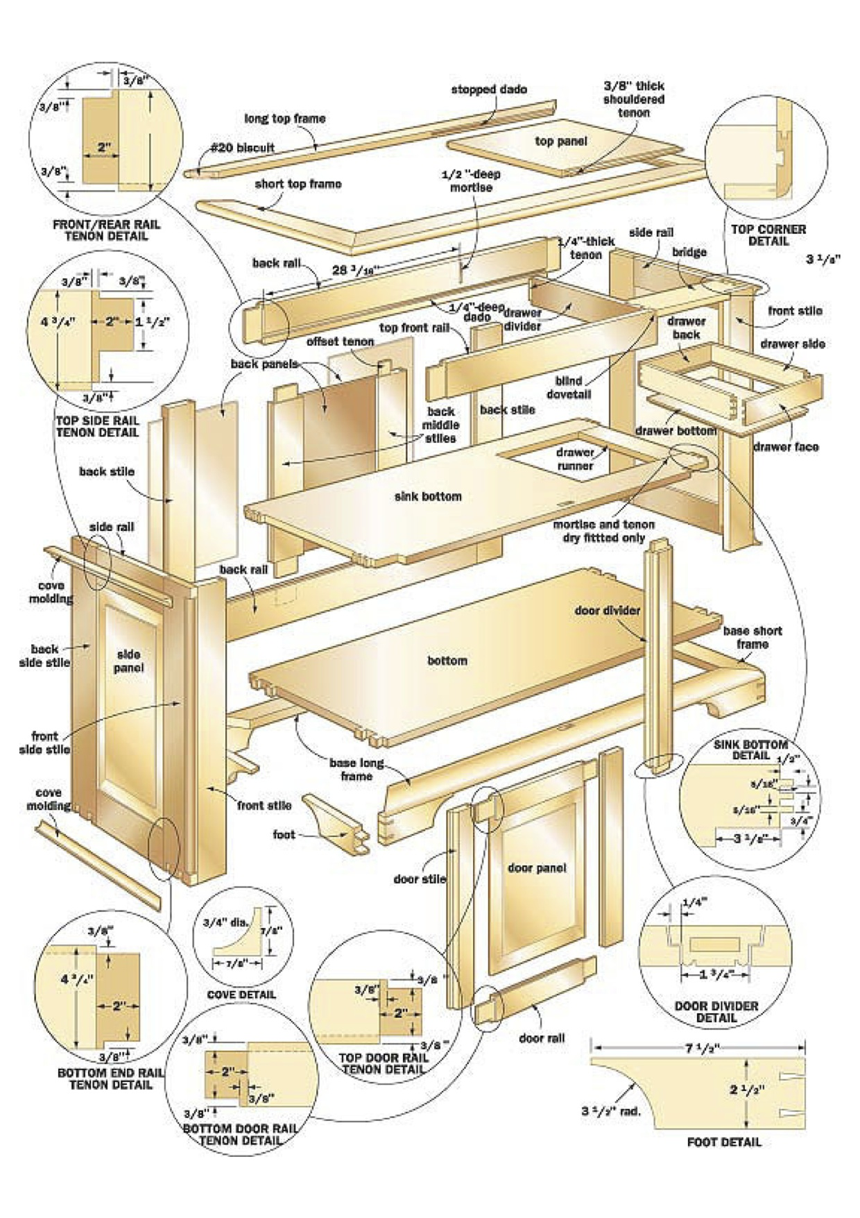 Download 100 free woodworking plans projects now for Free blueprints online
