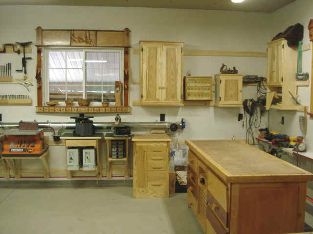 How to build a practical and small woodworking shop for Practical flooring ideas