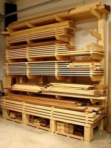 well organized woodshop