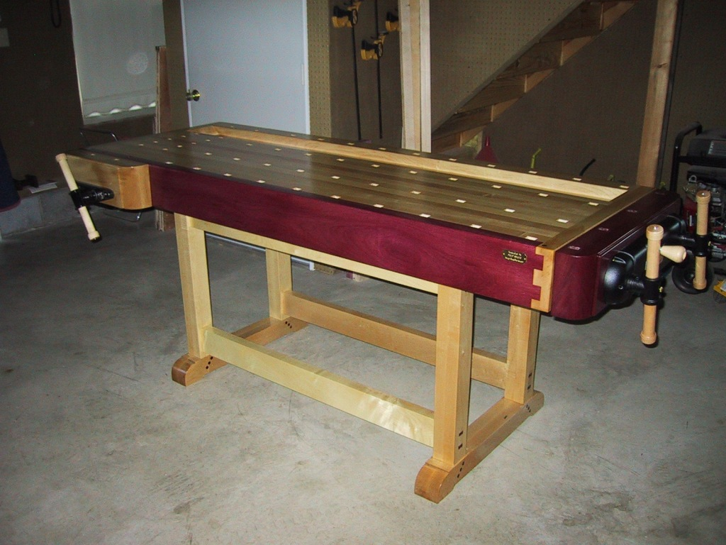 wood work bench