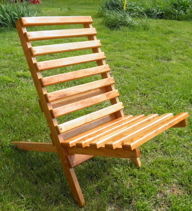 wooden chair wood working kit