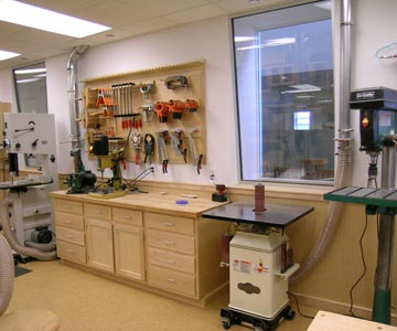 How to make your own woodshop with free woodshop plans for Design your own basement online free