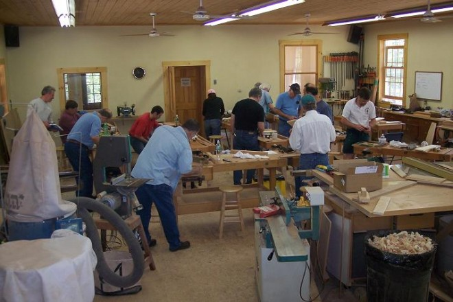 woodworking classes in bay area