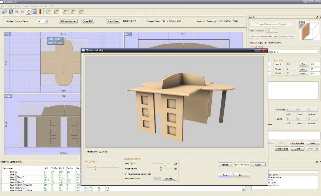 Most important features of a woodworking design software for 3d furniture design software free