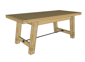 woodworking table plan