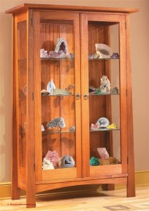 Wooden cabinet from American Woodworker