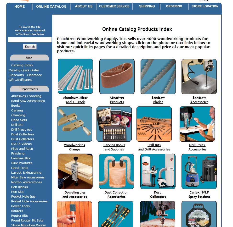 Peachtree Woodworking Catalog