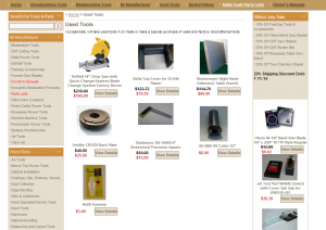 Used Woodworking Power Tools