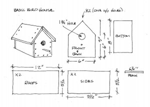 birdhouse woodwork projects