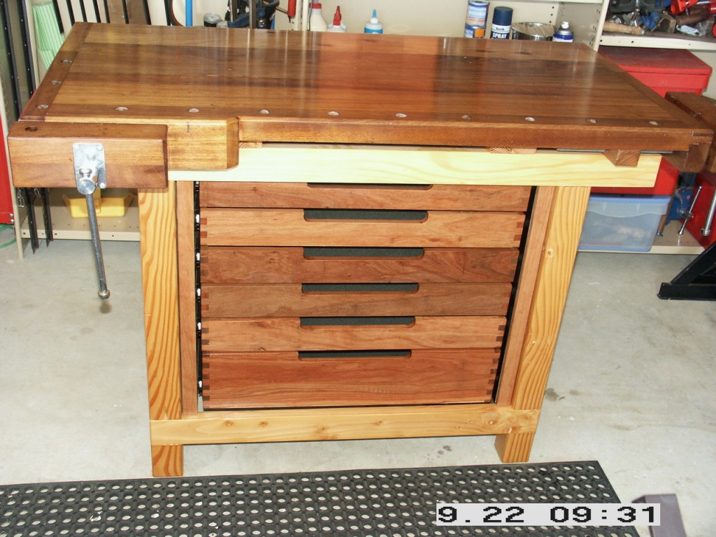 5 Free Woodworking Workbench Plans