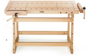 new woodworking bench