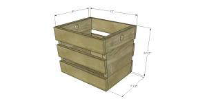 rustic basket woodwork project