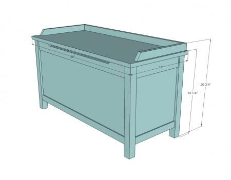 toy box plans