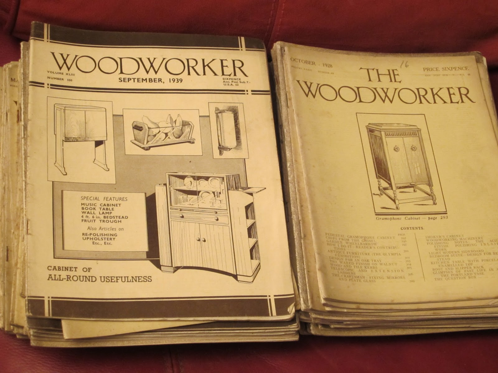 oldest woodworking magazines