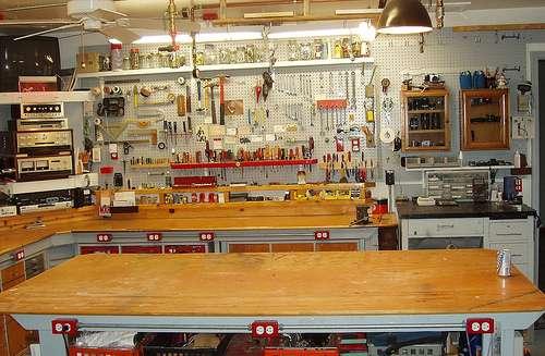 wood shop project