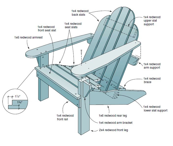 3 Adirondack Chair Plans To Try This Season
