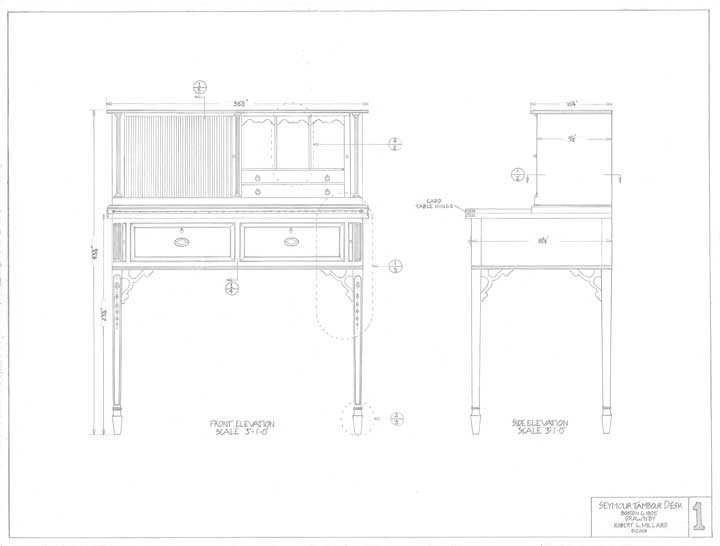 woodworking desk plans