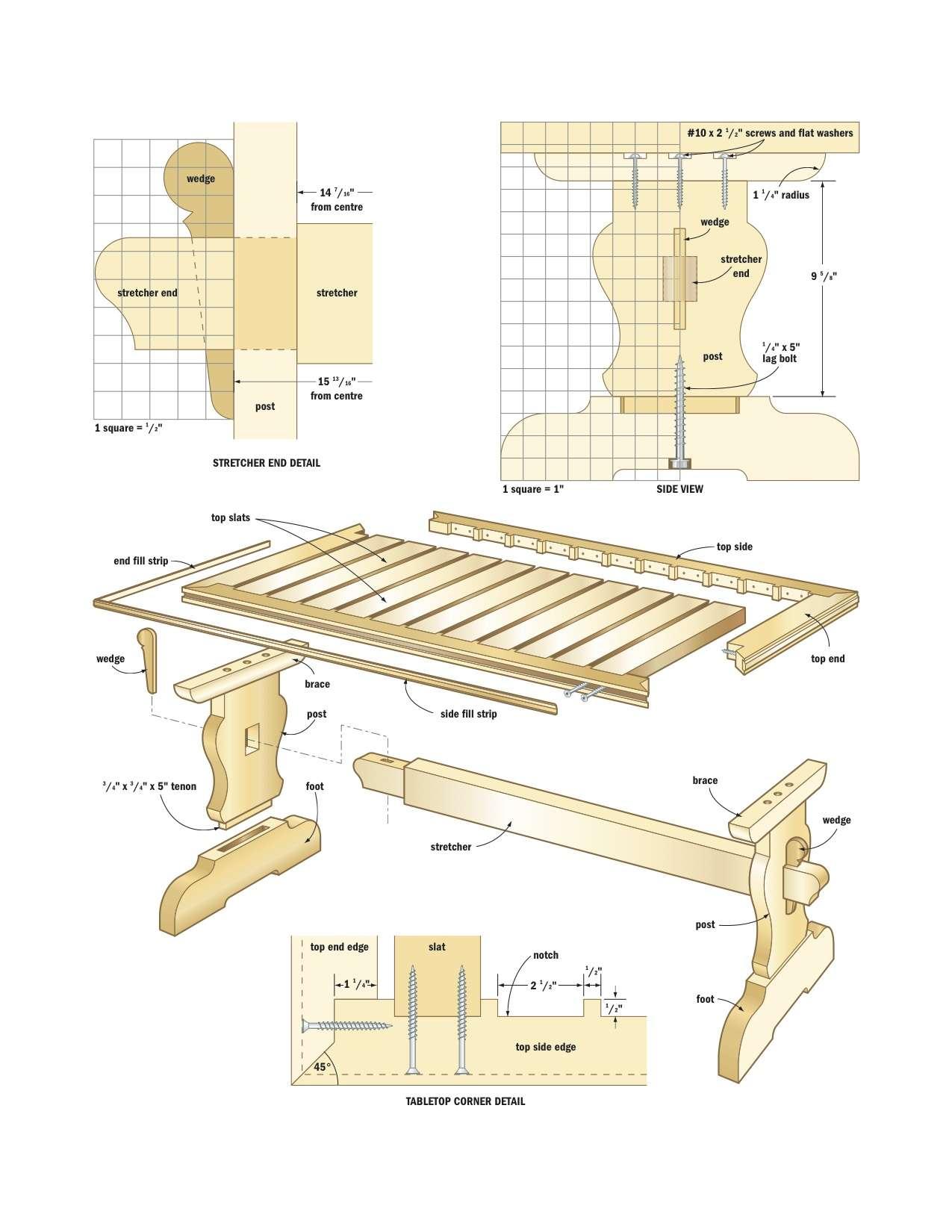 Free Woodworking Plan 5