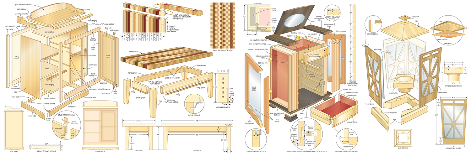 Free Woodworking Projects & Plans